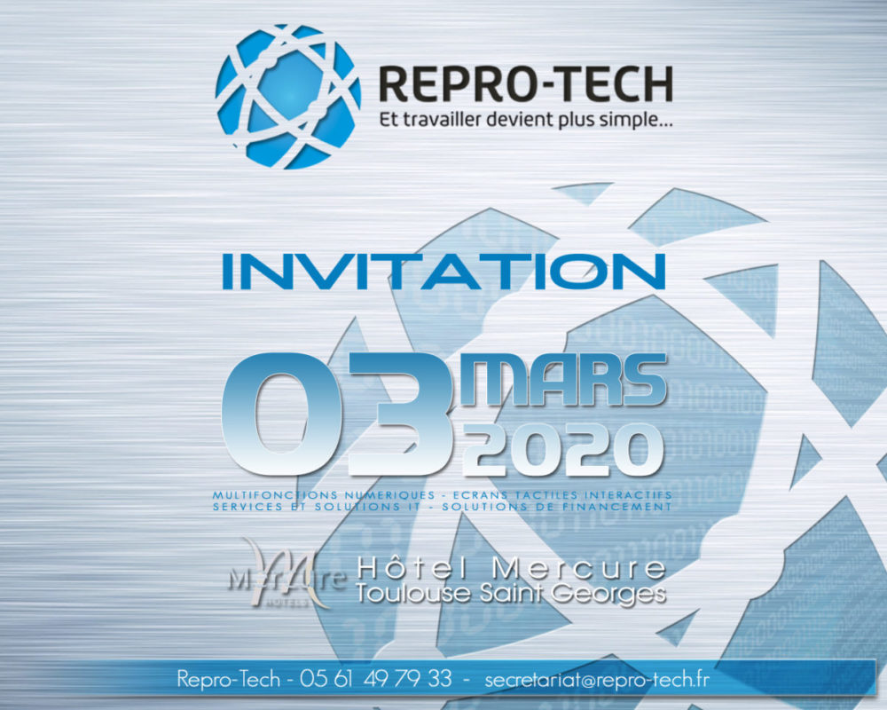 Invitation Electronique 3 Mars 2020