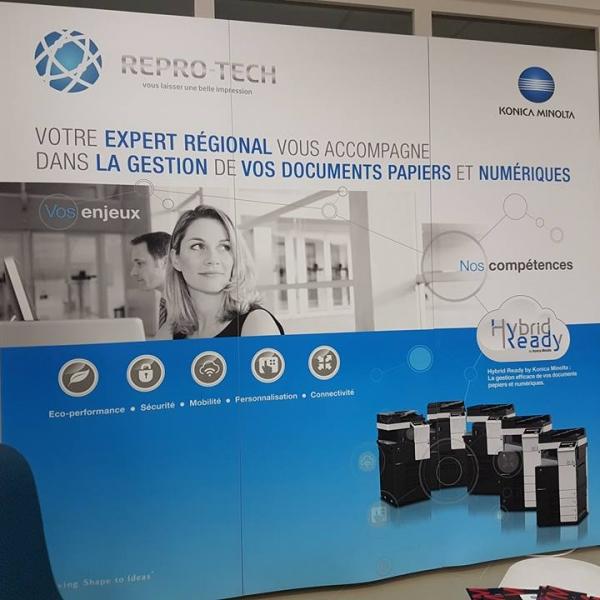 Repro-Tech expert régional accompagne les sociétés pour leurs outils informatique
